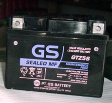 Baterai AKI Kering Motor